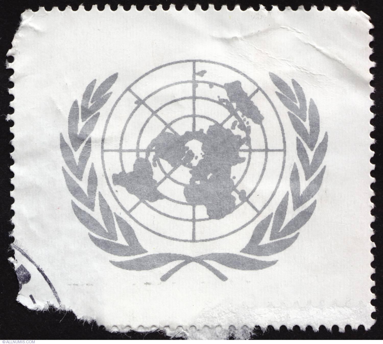 united nations logo diverse natiunile unite timbru 4392