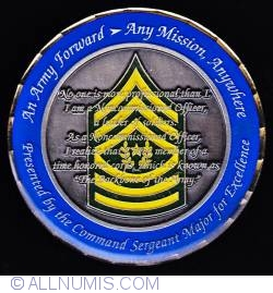 Imaginea #2 a United States Army Europe Command Sergeant Major
