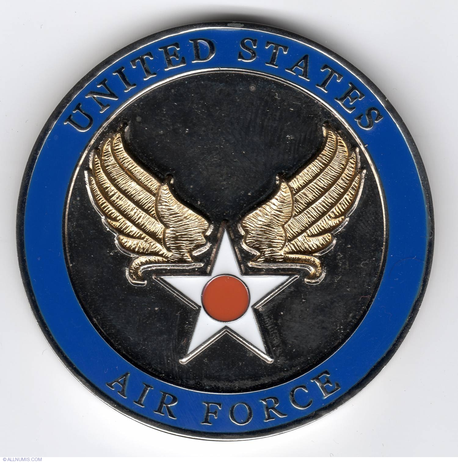 Us Air Force Anniversary Military Challenge Coin Air