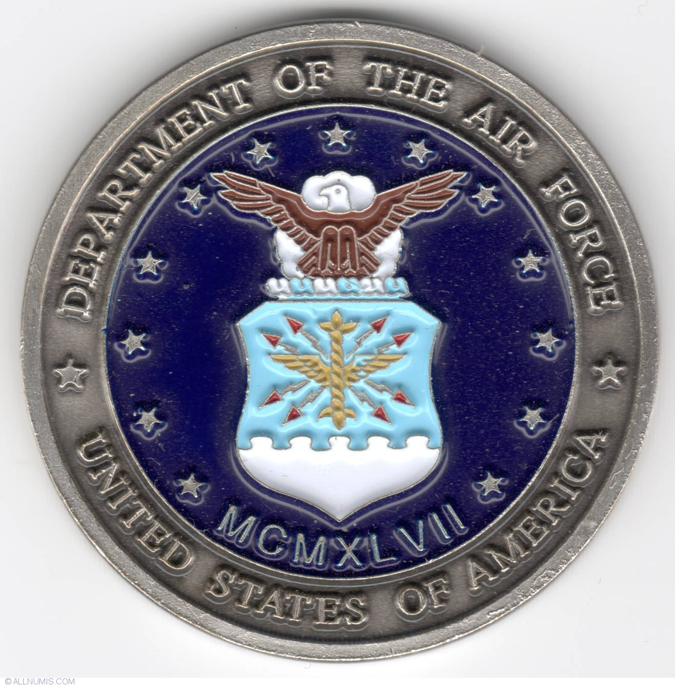 US Department of the Air Force Chief Master Sergeant
