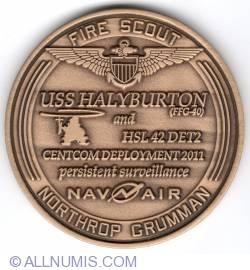 Imaginea #2 a USS Halyburton and HLS 42 Det 2