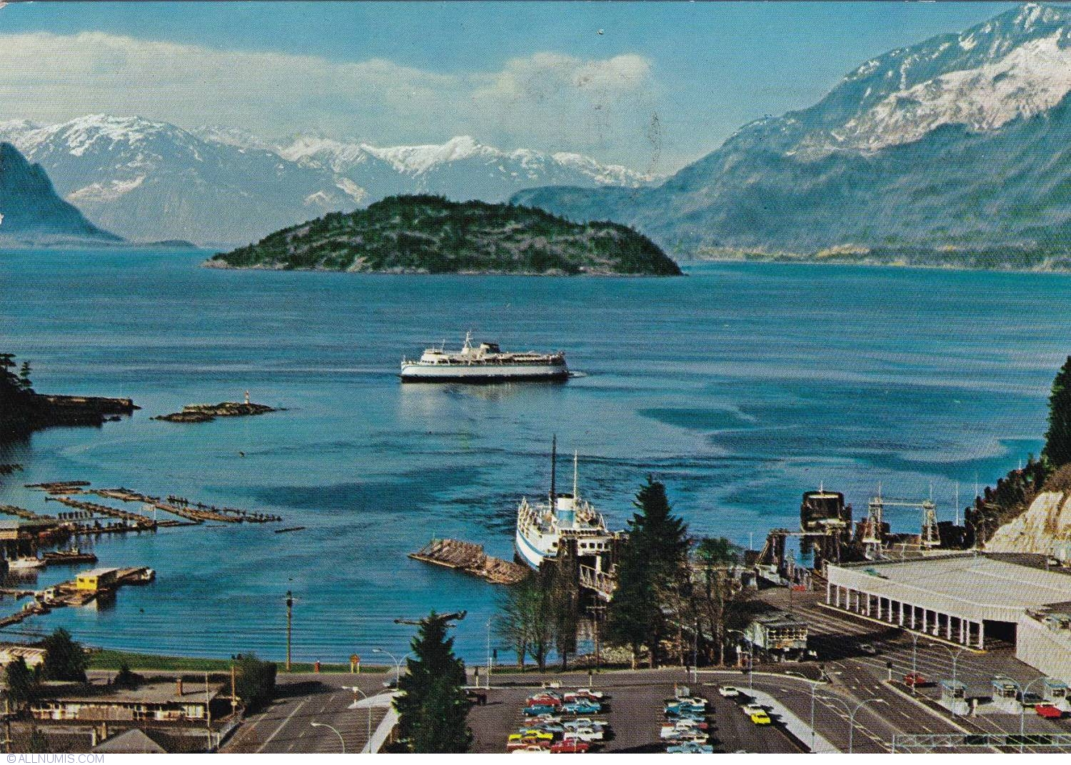 Postcard Vancouver Horseshoe Bay 1974 From Canada Id 20733