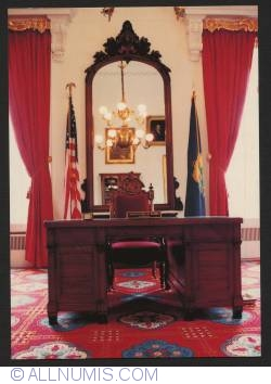 Image #1 of Vermont State House-Governor's desk