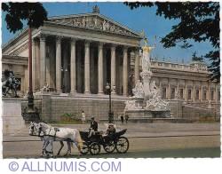 Imaginea #1 a Viena - Clădirea parlamentului (1970)