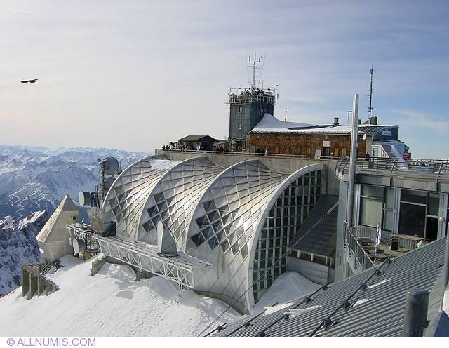 Zugspitze Münchner haus Walking stick badges shields