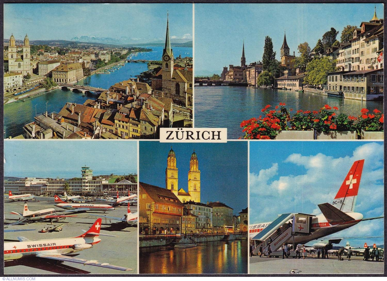 Z 252 Rich Z 252 Rich Switzerland Postcard 1125