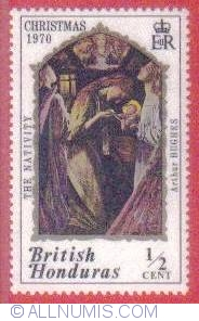 Image #1 of Birth of Christ British Honduras 1970
