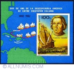 100 Lei Christopher Colombus 1992