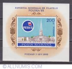 Imaginea #1 a 200 Lei Expozitia Mondiala de Filatelie POLSKA  , Poznan
