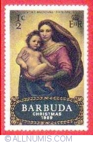 Image #1 of 1/2 c 1969 - Sistine Madonna