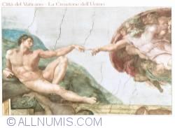 Image #1 of Vatican city - La Creazione dell Uomo 2012