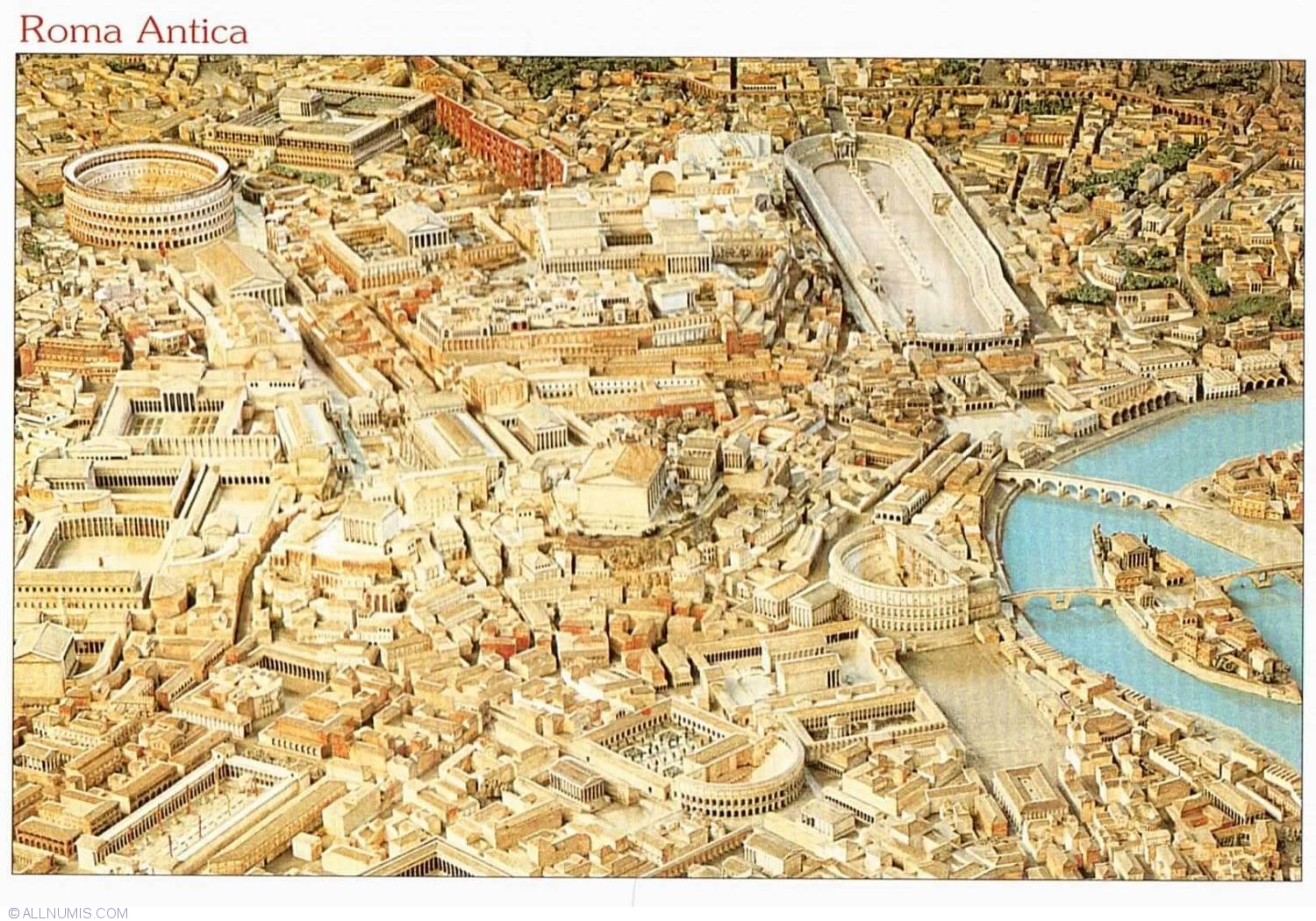 Roma Antica 2012, Rome and Vatican city - Italy - Postcard ...