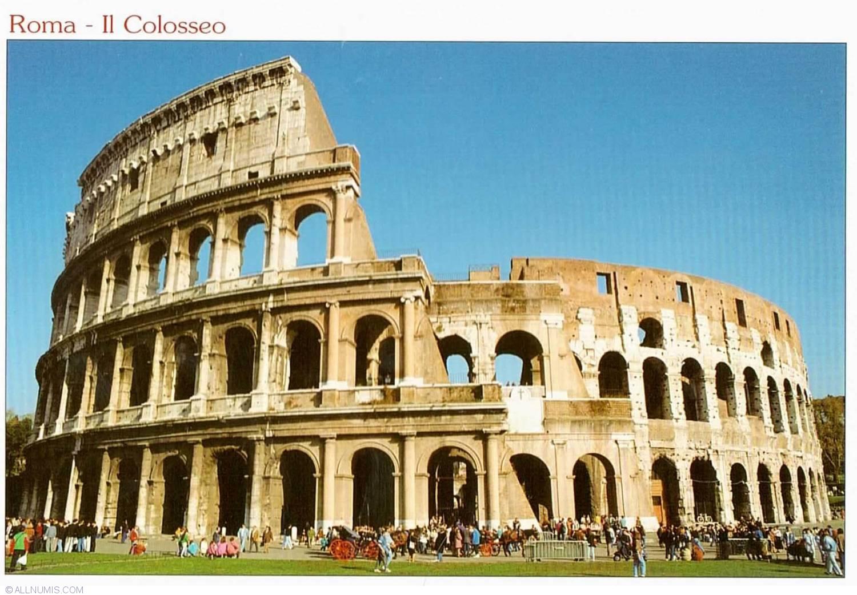 Rome Colosseum Il Colosseo 2012 Rome Colosseum