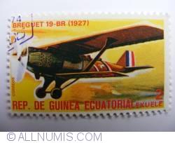 Image #1 of 2 Ekuele Breguet 19-BR (1927) 1977
