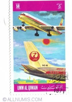 50 Dirhams DC-8 1971