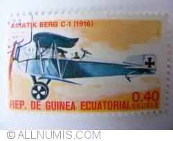 Image #1 of 0.40 Ekuele  Aviatik Berg C-1 (1916) 1977