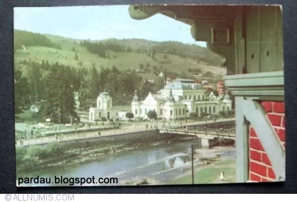 Vatra Dornei - Cazinoul si Hotelul Maestro, Vatra Dornei - Romania - Carte poștală - 5827