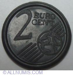 2 EURO CENT – Monedă de joc