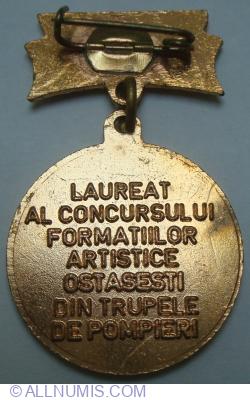 Imaginea #2 a LAUREAT AL CONCURSULUI FORMATIILOR ARTISTICE OSTASESTI DIN TRUPELE DE POMPIERI