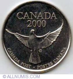 Image #2 of 1999 - 2000 Canada Post Millenium Medallion