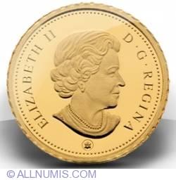 2010 0.5g Fine Gold Caribou Coin