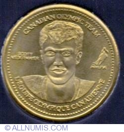 Coca Cola 2002 XIX Winter Olympic Games Ice Hockey Gold Medalist Scott Neidermayer Medallion