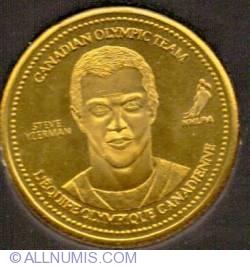 Coca Cola 2002 XIX Winter Olympic Games Ice Hockey Gold Medalist Steve Yzerman Medallion