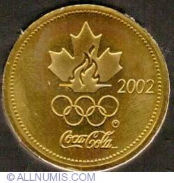 Imaginea #2 a Coca Cola 2002 XIX Winter Olympic Games Ice Hockey Gold Medalist Steve Yzerman Medallion