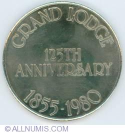 Mason Grand Lodge of Canada 125th Anniversary Medallion
