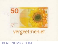Image #2 of The image of 50 Gulden banknote
