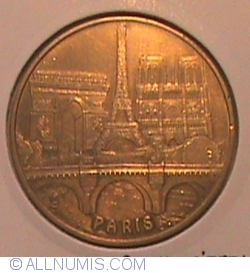 Paris - turnul Eiffel 2008