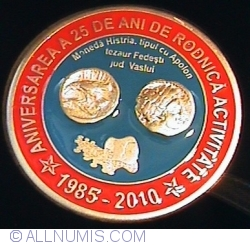 Image #1 of Medalie aniversarea a 25 de ani de la infiintarea Sectiei Barlad a SNR