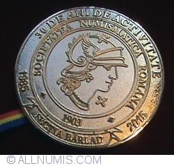 Image #1 of Medalie aniversarea a 30 de ani de la infiintarea Sectiei Barlad a SNR