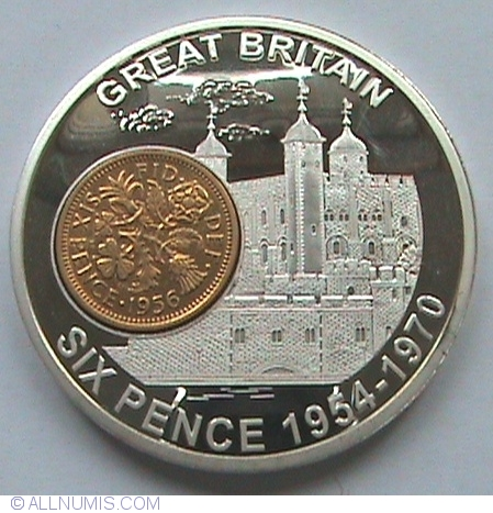 Six Pence 1954 1970 History Of British Currency