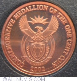 Image #1 of 1 Cent (Commemorative Medallion)