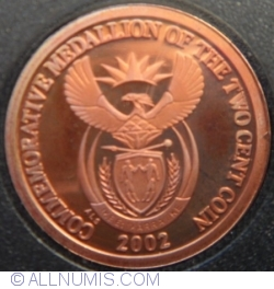 Image #1 of 2 Cents ( Commemorative Medallion)