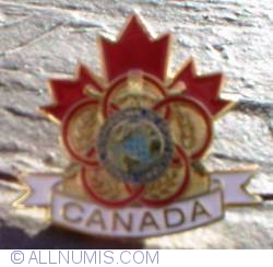 Imaginea #1 a Canada CISM (Military Sports) pin