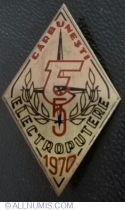 Electroputere CARBUNESTI 1970 - Concurs de Orientare Turistica
