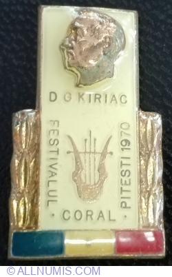 Imaginea #1 a Festivalul Coral D G Kiriac - PITESTI 1970
