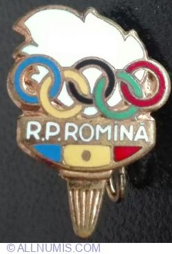 Flacara Olimpica R.P.Romania