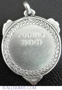 Associazione Voluntari Italiani del Sangue - TORINO 30.10.1955 - Argint
