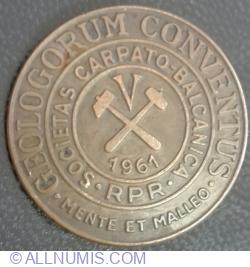 Geologorum Conventus - Societas Carpato~Balcanica RPR - 1961