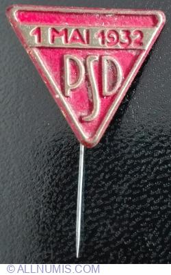 Image #1 of 1 Mai 1932 - PSD (Partidul Social-Democrat)