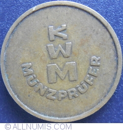 KWM münzprüfer II