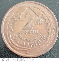 2 Crediti 1999