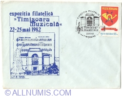 """Image #1 of Philatelic Exhibition """"Musical Timisoara"""" - TIMISOARA 22 ~ 25 May 1982"""
