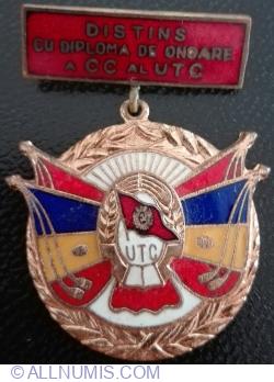Distins cu Diploma de Onoare a CC al UTC