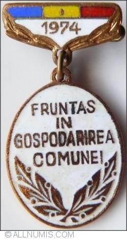 Image #1 of Fruntas in Gospodarirea Comunei - 1974