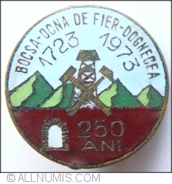 Image #1 of Bocsa - Ocna de Fier - Dognecea 1723 ~1973