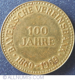 Image #1 of 100th anniversary of the  Bayerische Vereinsbank